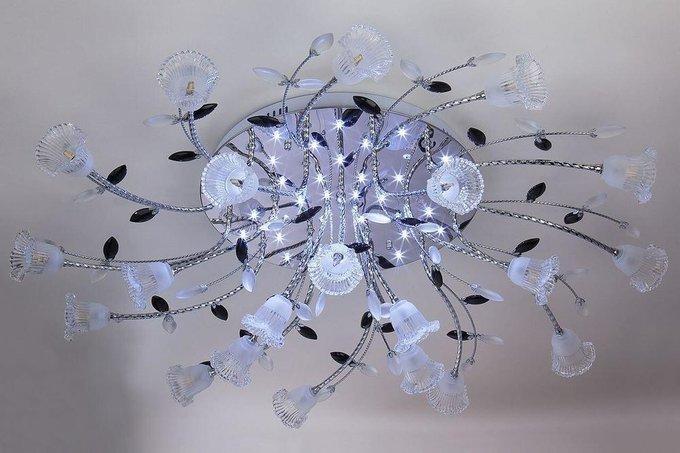 Потолочная светодиодная люстра с пультом ДУ Eurosvet Florescence