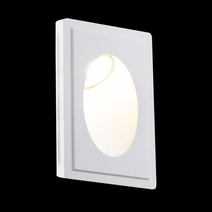 Настенный светильник Gyps Modern белого цвета