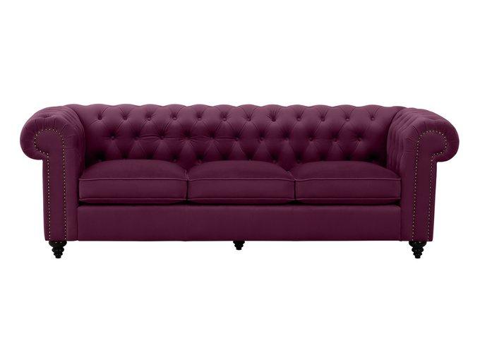 Диван Chester Classic бордового цвета