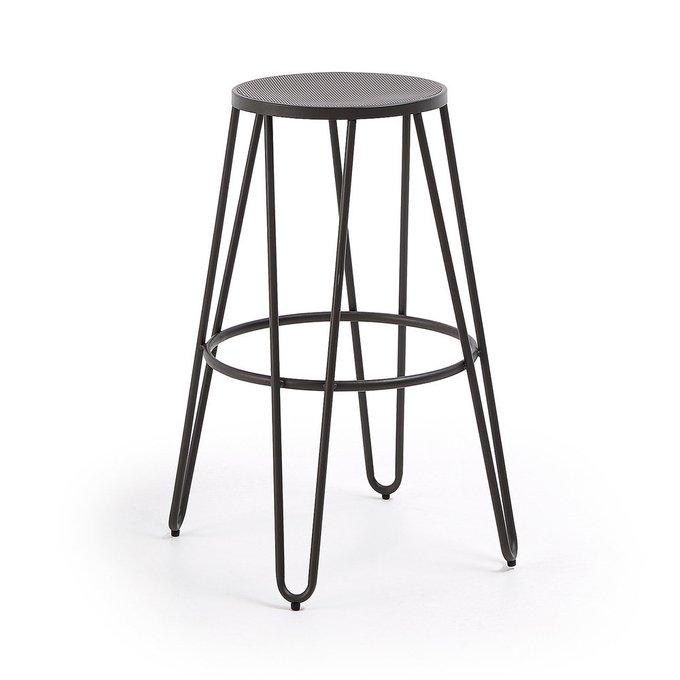 Барный стул Mallone цвета графит