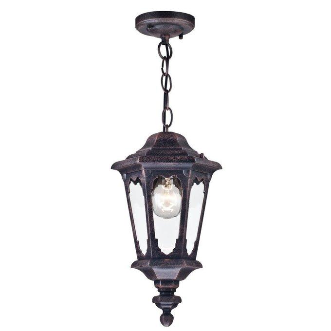 Уличный подвесной светильник Oxford черного цвета