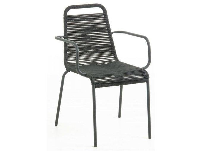 Кресло Bingham черного цвета
