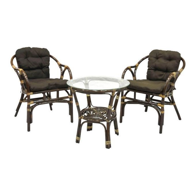 Комплект Terrace Set из стола и двух кресел