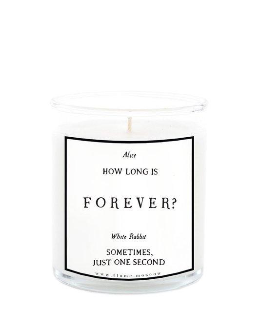Ароматическая свеча Alice in Forever из 100% кокосового воска