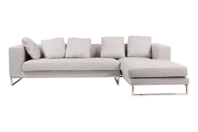 Угловой диван Dadone бежевого цвета