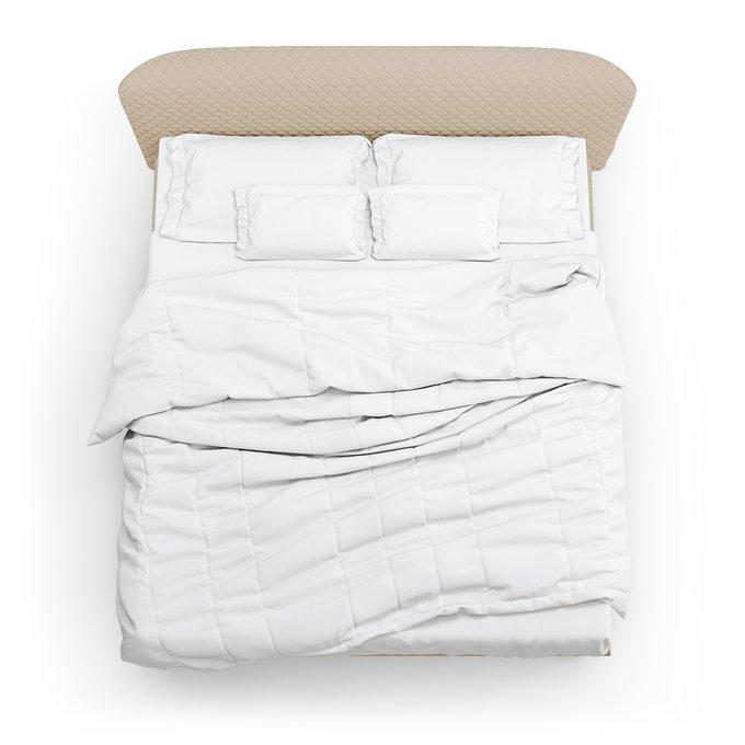 Кровать Венди бежевого цвета 160х200
