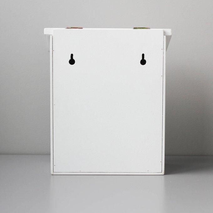 Детский почтовый ящик белого цвета