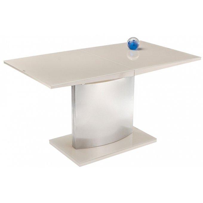 Раскладной обеденный стол Tabel champagne кремового цвета