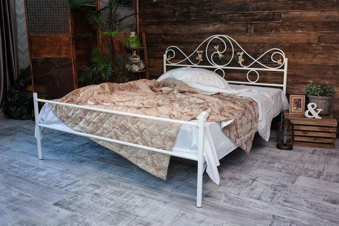 Кованая кровать Венеция 1.6 с одной спинкой 160х200