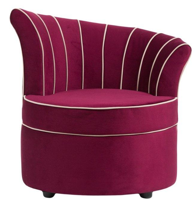 """Кресло""""Shell бордового цвета"""