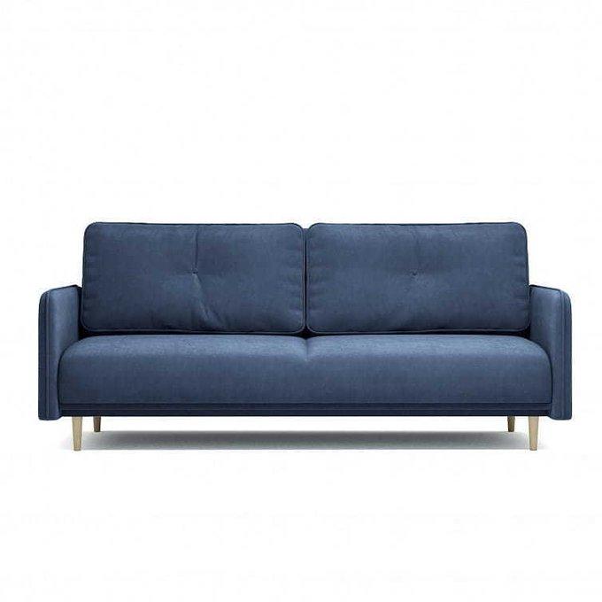 Диван-кровать Блумбер синего цвета
