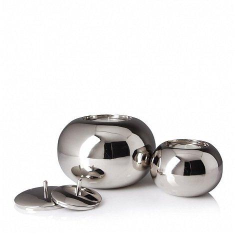 Подсвечник Dom Deco Small Silver Sphere