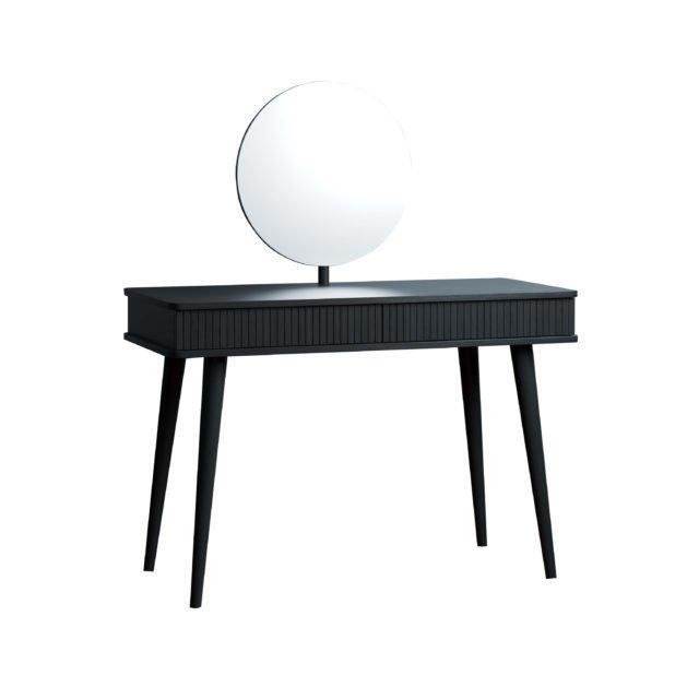 Туалетный столик Viva MISS 120х50 черного цвета