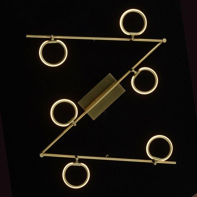 Трековая светодиодная система Этингер золотого цвета