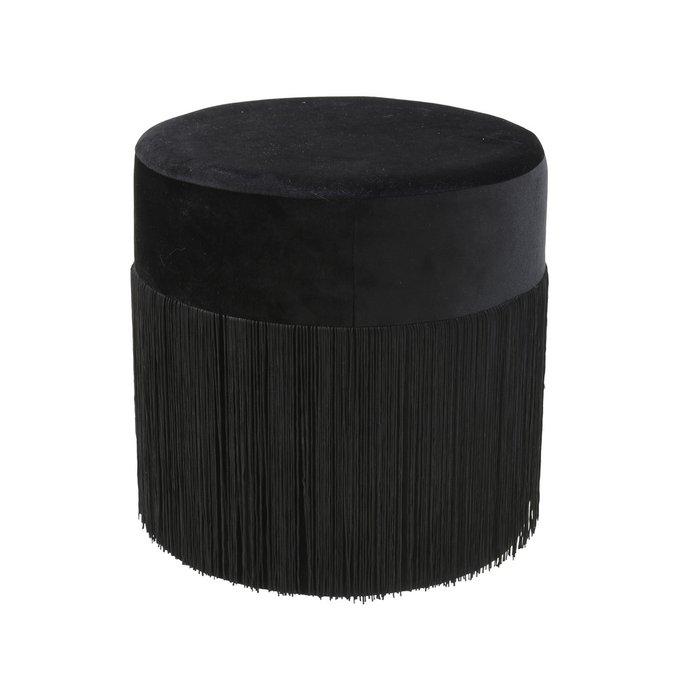 Пуф черного цвета