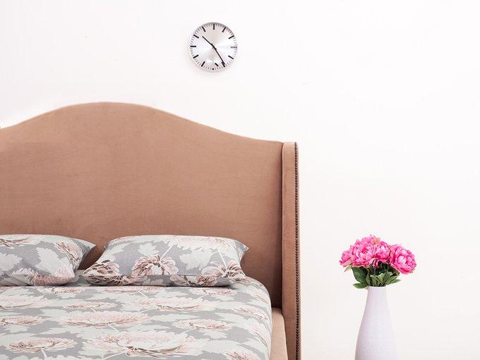 """Кровать """"Soul"""" с высокой спинкой и декоративными  элементами 160х200"""