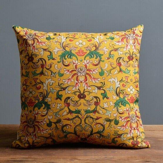 Чехол для подушки Охра