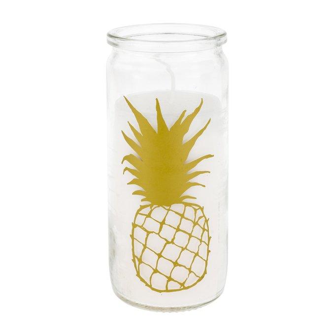 Свеча в стакане Caribbean цвет золото