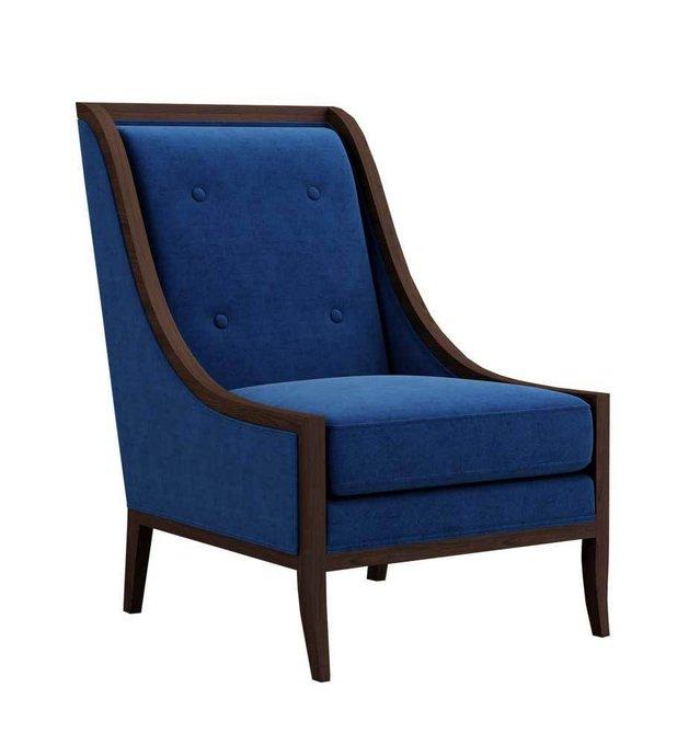 Кресло Модерн Звездная Ночь синего цвета