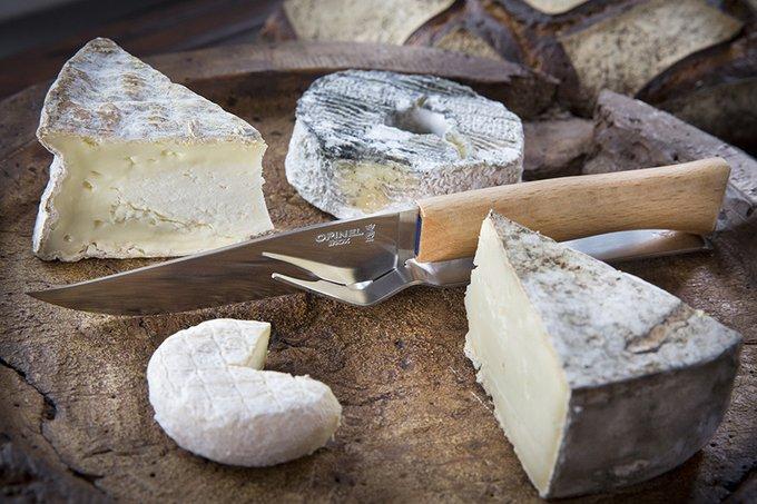 Набор для сыра из вилки и ножа Parallele