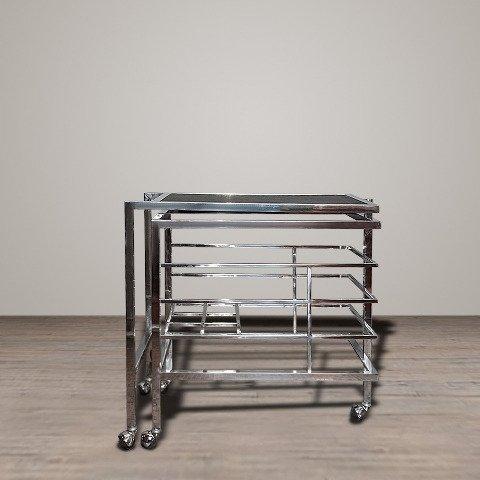 Сервировочный Стол Колинз с каркасом из стали