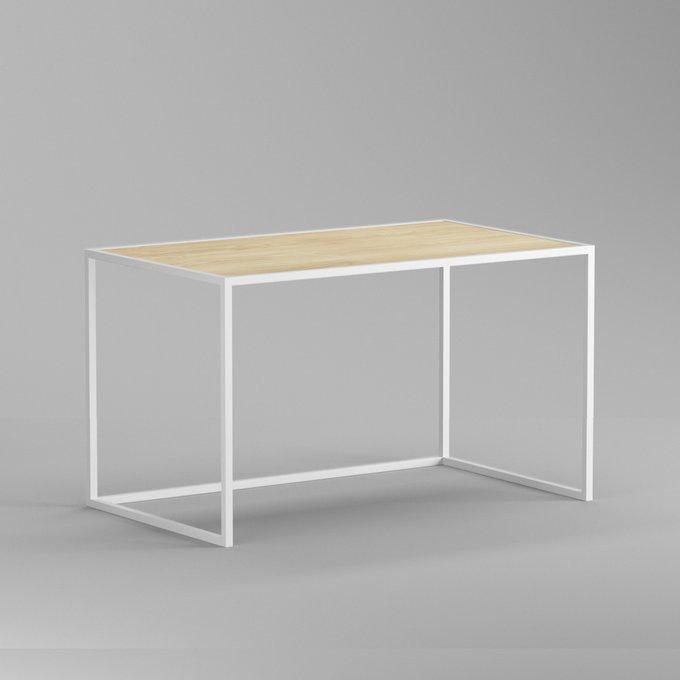 Письменный стол Romero lite white светлый дуб