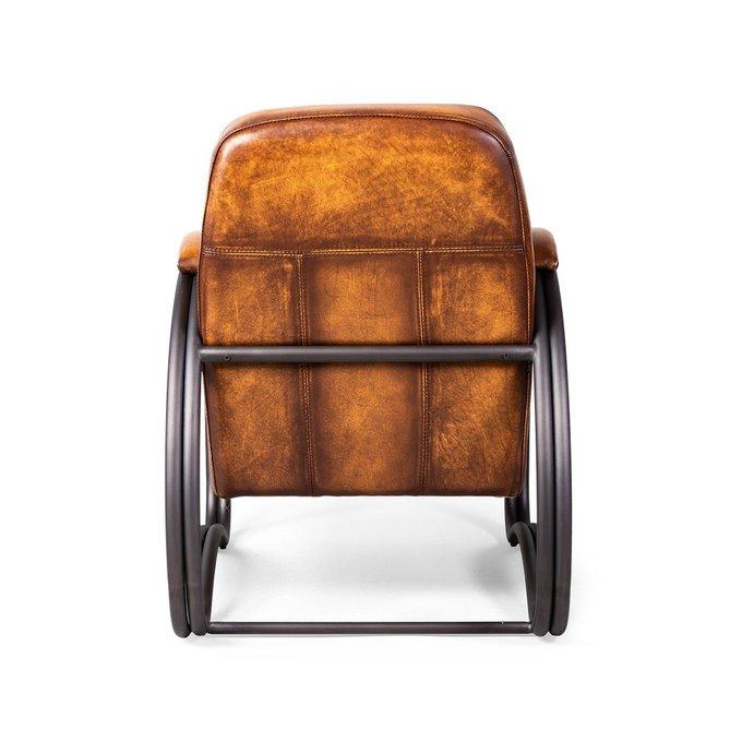 Кресло Stomellon с обивкой из натуральной кожи