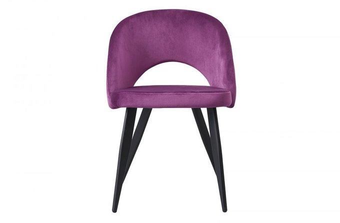 Мягкий стул Beatrice с пурпурной обивкой