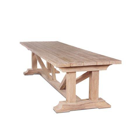 Стол Elias из массива тикового дерева