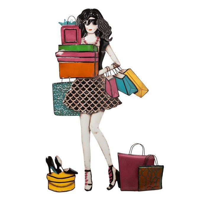 "Декоративное настенное панно ""Shopogolic Girl"""