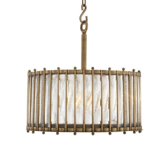 Подвесной светильник Tiziano на металлическом каркасе