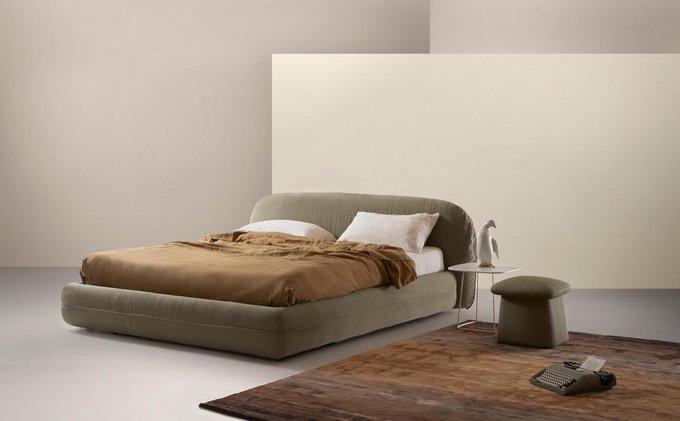 Кровать Rolling коричневого цвета 180х200