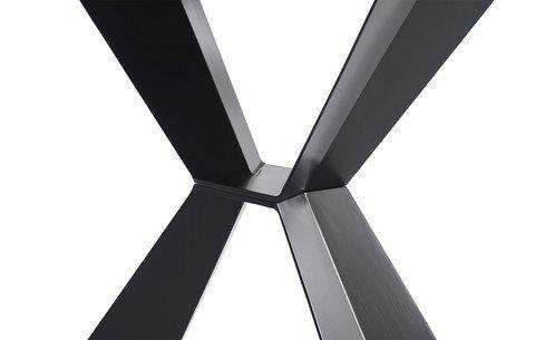 Стол-консоль с металлическим подстольем