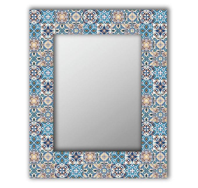 Настенное зеркало Мексиканская плитка 65х80