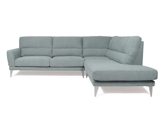 Угловой диван Metropol серого цвета