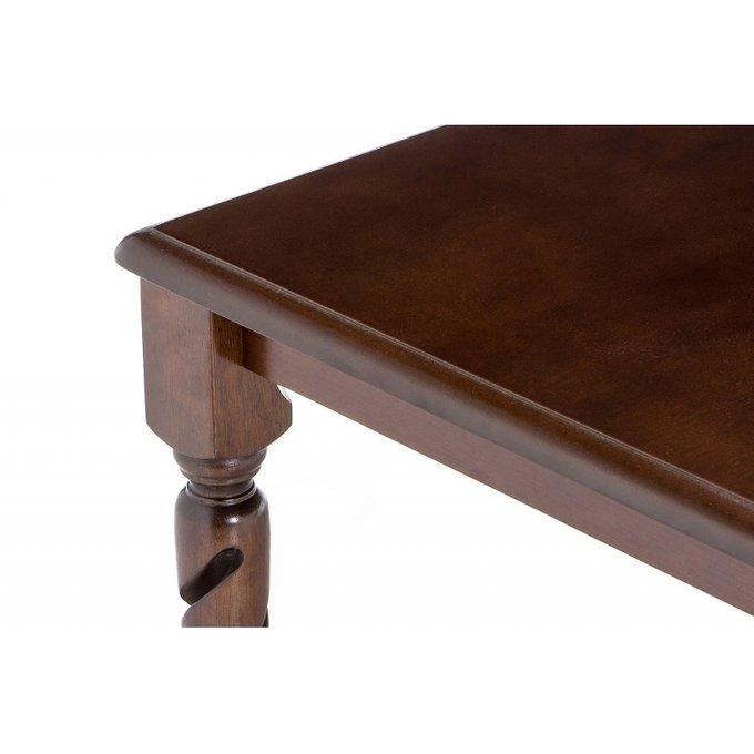Журнальный стол Marco oak темно-коричневого цвета