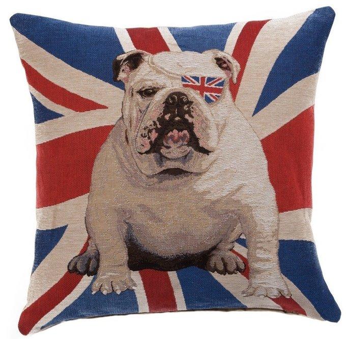 Подушка с принтом Winston