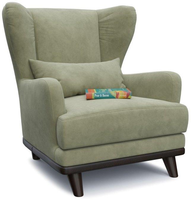 Кресло Роберт Хаки зеленого цвета
