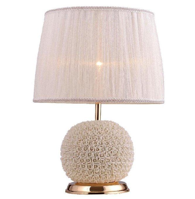 Настольная лампа Adagio с розовым абажуром