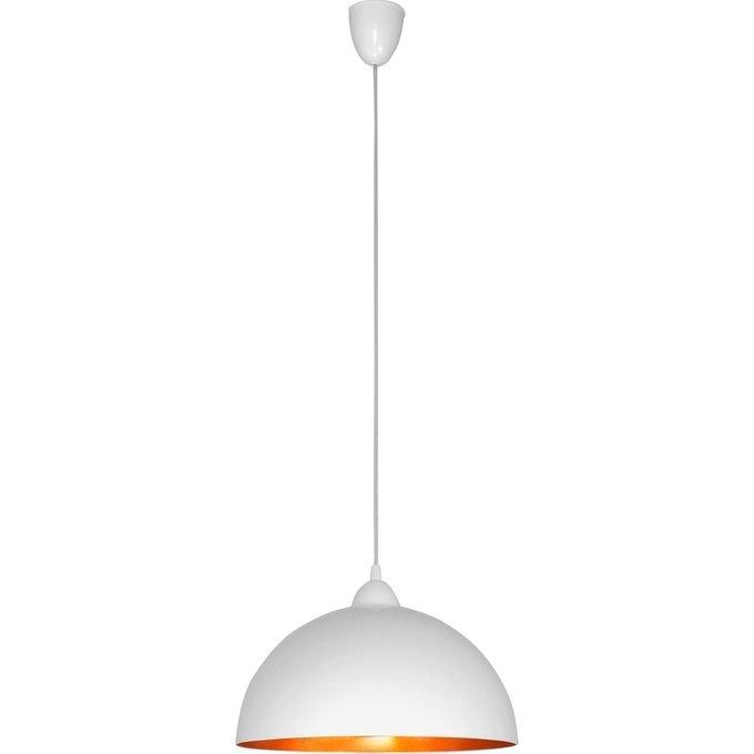 Подвесной светильник Hemisphere белого цвета