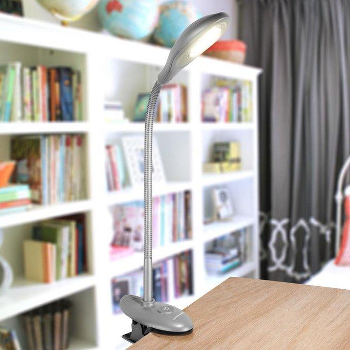 Настольная лампа Elektrostandard Captor серебристый