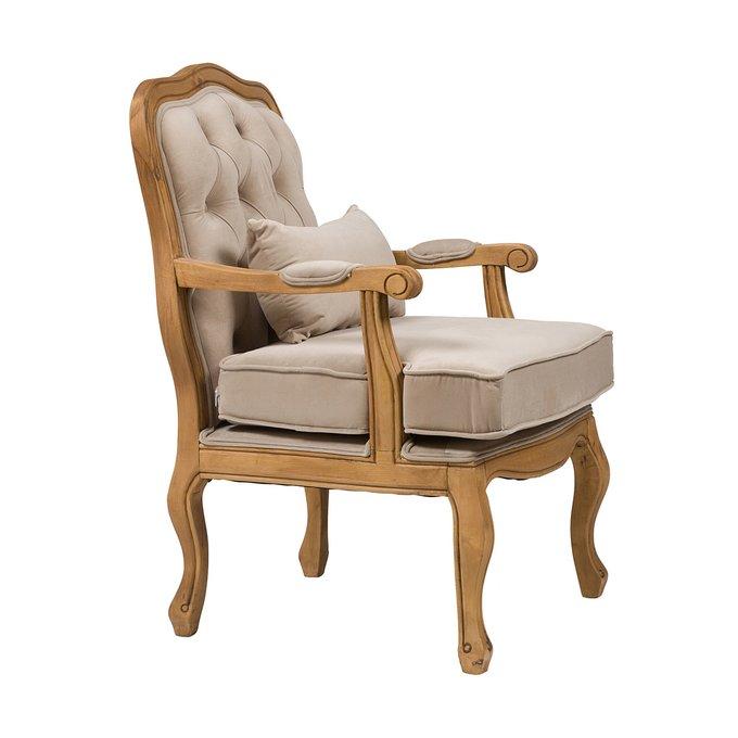 Кресло Belladonna Бежевый Вельвет