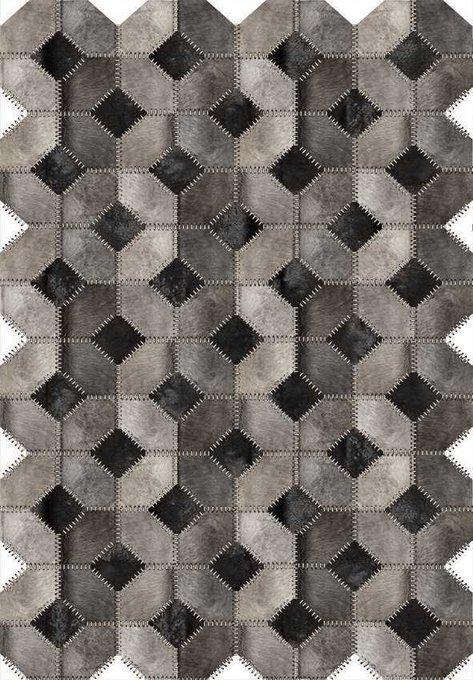 Ковер серого цвета 80x150