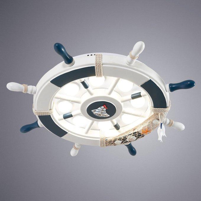 Потолочный светодиодный светильник Helm в морском стиле