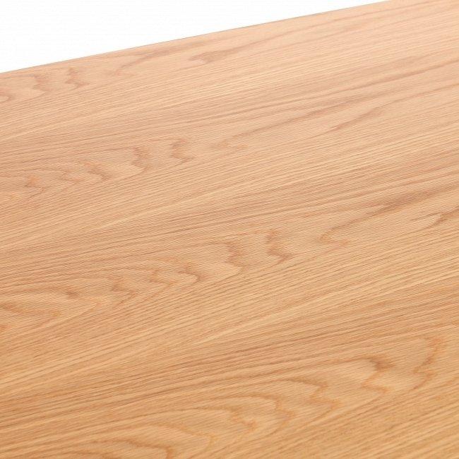 Обеденный стол Komoro с отделкой столешницы шпоном американского белого дуба