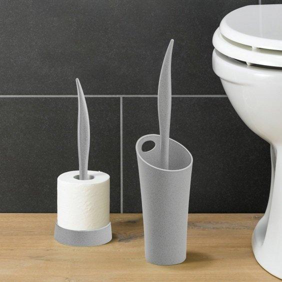 Держатель для туалетной бумаги Sense белого цвета