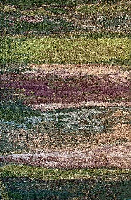 Ковер Alina Village коричнево-зеленого цвета 160х230