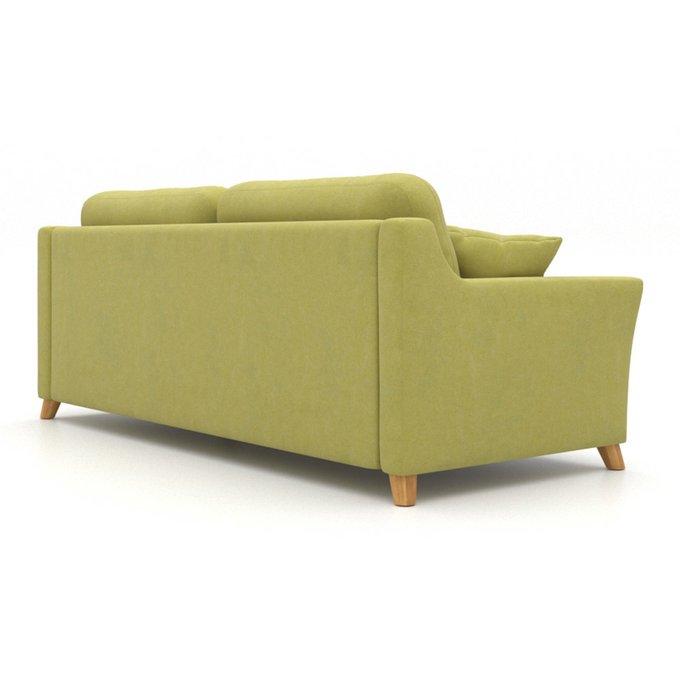 Диван-кровать Raf EKL трехместный зеленый