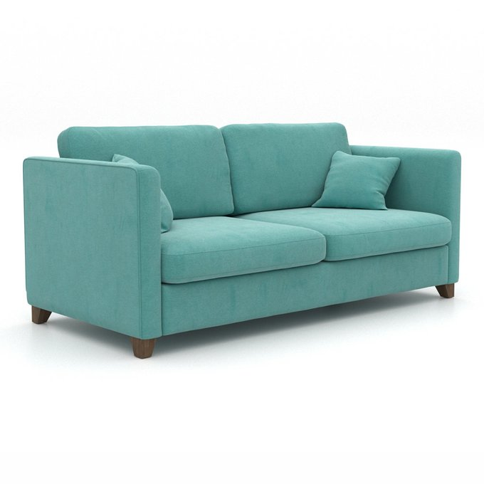 Диван Bari MT голубого цвета