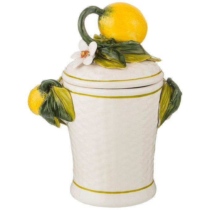 Ёмкость для продуктов Лимоны из керамики